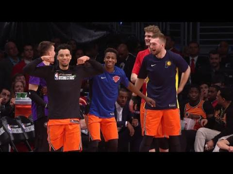Best Reactions From 2018 Rising Stars and Celebrity All-Star Game | Presented by Mtn Dew Kickstart