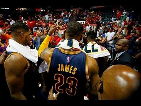 Lebron James Too Much for Atlanta, Scores 31