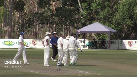 Wickets tumble on day three in Darwin