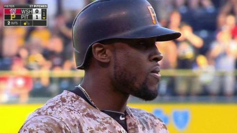 WSH@PIT: Marte triples to open the scoring in the 1st