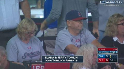 WS2016 Gm6: Tomlin's parents enjoy Game 6 of WS