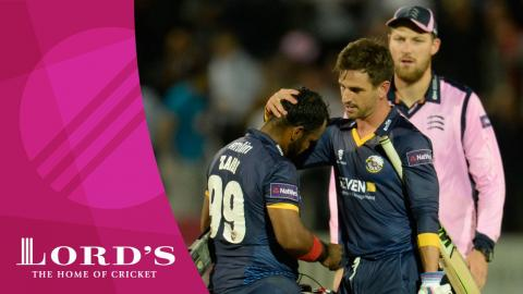 Middlesex v Essex Eagles | NatWest t20 Blast Highlights