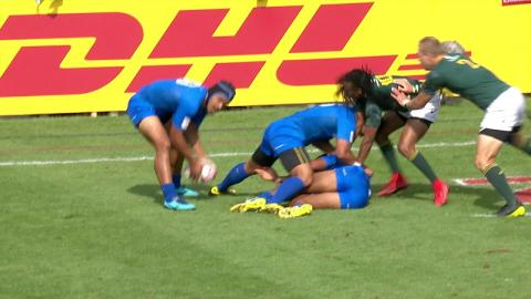 Seven awesome tries from the Dubai Sevens