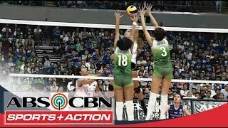 UAAP 77 Women's Volleyball: ADMU Vs DLSU Full Game HD
