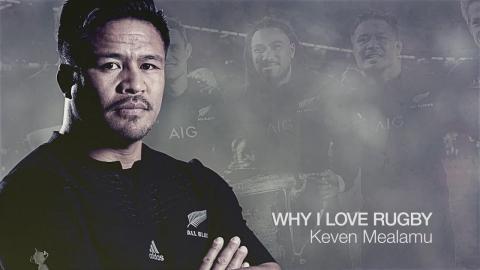 Keven Mealamu | Why I love rugby