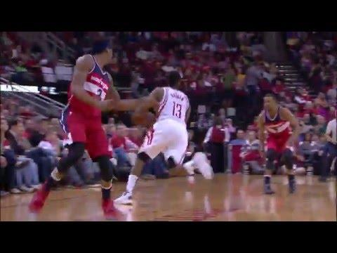 James Harden Drops 40 on the Wizards