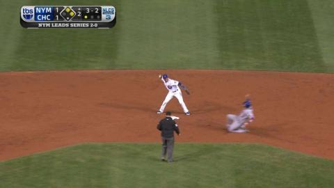 NLCS Gm3: Hendricks induces inning-ending double play