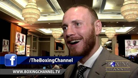 """George Groves: """" Badou Jack is a good fighter, but I'm better""""."""