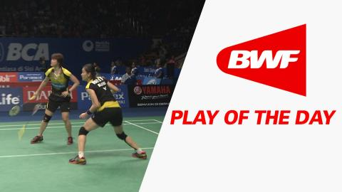Play Of The Day | Badminton QF – BCA Indonesia Open 2016