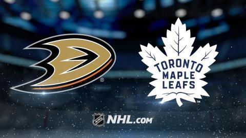 Matthews, Nylander power Leafs to 7-4 win vs. Ducks