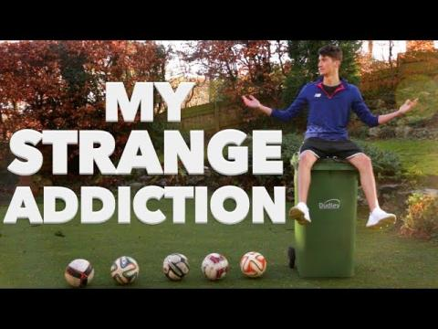 Addicted to Football Trick Shots...