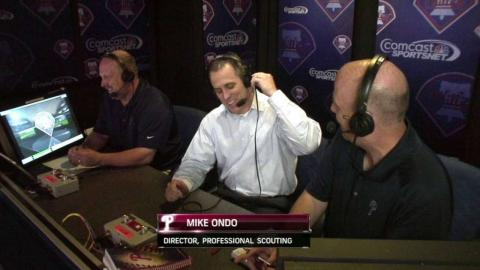 MIL@PHI: Ondo joins the Phillies' broadcasters in 2nd