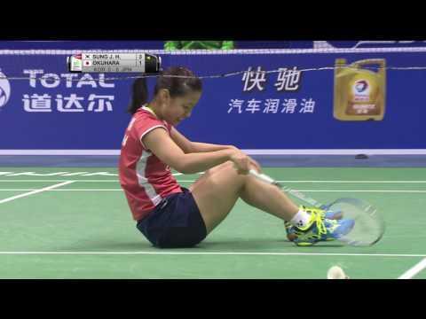 TOTAL BWF Thomas & Uber Cup Finals 2016 | Badminton SF/S2-Uber Cup – KOR vs JPN (Court 2)