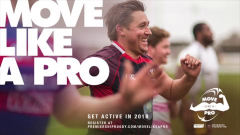 Move Like A Pro 2018 launch with James Haskell