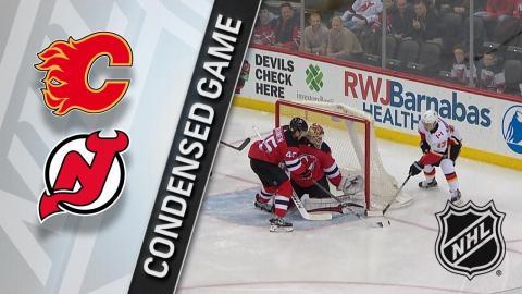 02/08/18 Condensed Game: Flames @ Devils