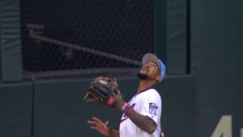 CLE@MIN: Mejia leaves the bases loaded in the 1st