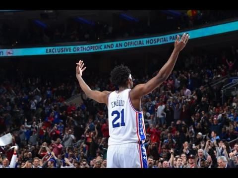 Joel Embiid Scores 32 Against Rockets | 01.27.17