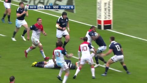 Highlights of France v Scotland in the 2017 RBS Six Nations