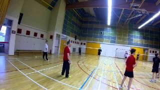 Entrainement De Badminton Avec Julien Friedrich à Nogent Sur Seine