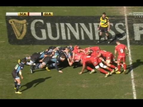 Ospreys v Treviso rugby Guinness Pro12 rugby 2016 Round 20