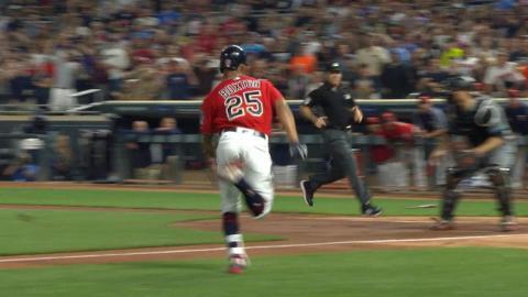 ARI@MIN: Buxton legs out an inside-the-park home run