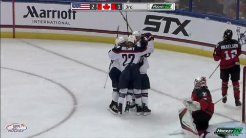 2017 Four Nations Cup: USA-Canada Championship Highlights