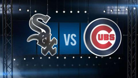 7/28/16: Chapman nails down his first save as a Cub