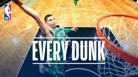 Jaylen Brown, Jayson Tatum, Dennis Smith Jr. and Every Dunk From Tuesday Night | Nov. 14, 2017