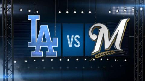 6/29/16: Brewers limit Dodgers to two hits in 7-0 win