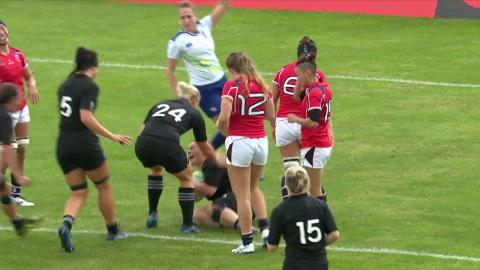 Top 5 cracking tries from match day 2 of the Women's Rugby World Cup
