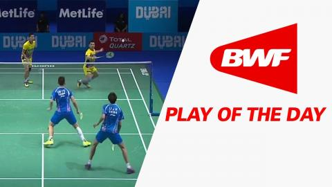 Play Of The Day | Badminton Day 2 - Dubai World Superseries Finals 2016