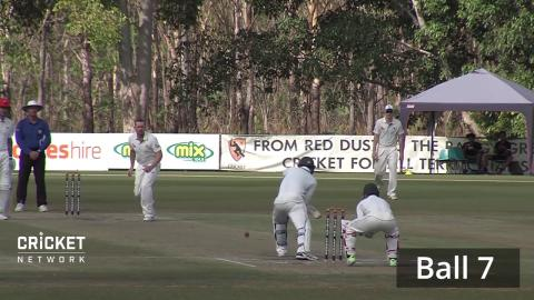 Holland takes four wickets in 11 balls in Darwin