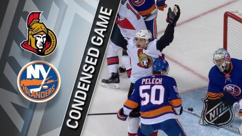 12/01/17 Condensed Game: Senators @ Islanders
