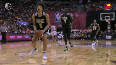 Top 5 Plays from the Las Vegas Summer League: July 7, 2017