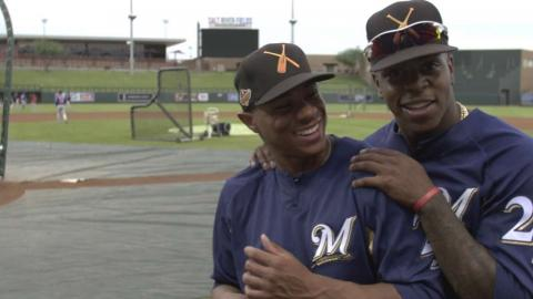 Ray, Harrison on their friendship, path to MLB