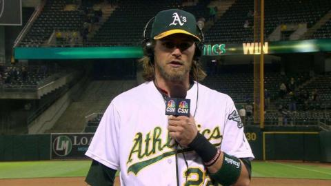 TOR@OAK: Reddick on All-Star break and 8-7 win