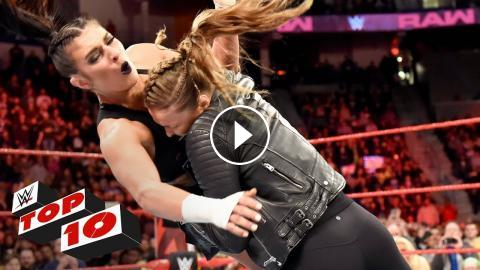 Top 10 Raw Moments Wwe Top 10 April 16 2018