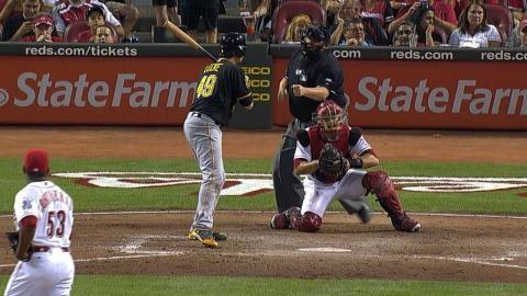 Carlos Contreras tallies three K's on nine pitches