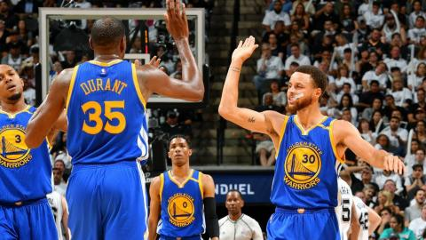 Curry and Durant Lead Warriors to NBA Finals | May 22, 2017