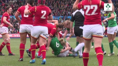 Irish Rugby TV: Pitch Cam - Ireland Women In Wales