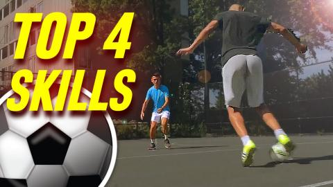 fc7a2dcbb53a4 Can You Do This? Amazing Football Skills To Learn - Tutorial