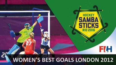 Women's best goals - London 2012