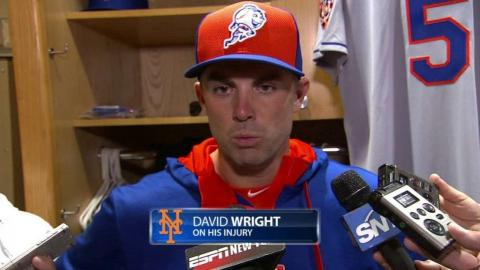 NYM@SD: Wright gives update on back injury