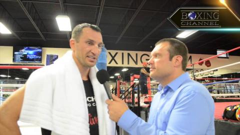 """Wladimir Klitschko: """"There's no one else in my mind other than Bryant Jennings""""."""