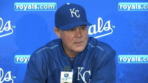 DET@KC: Yost on win over the Tigers