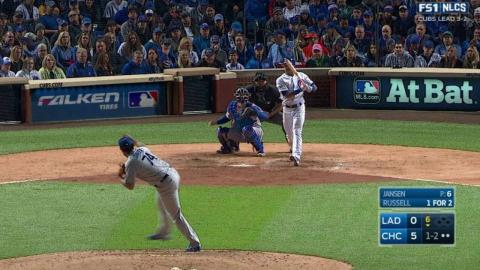 NLCS Gm6: Jansen strikes out Russell to end the 6th