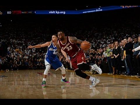 Stephen Curry and LeBron James Have a Christmas Day Duel