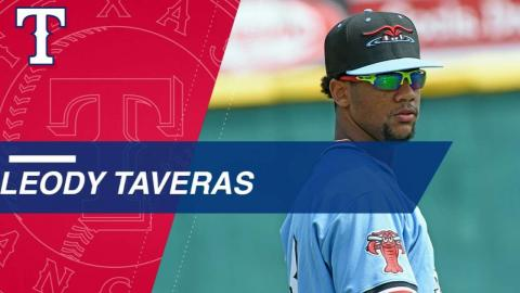 Top Prospects: Leodys Taveras, OF, Rangers