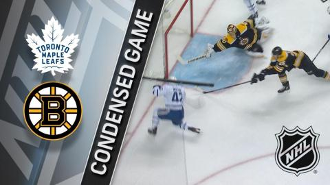 02/03/18 Condensed Game: Maple Leafs @ Bruins