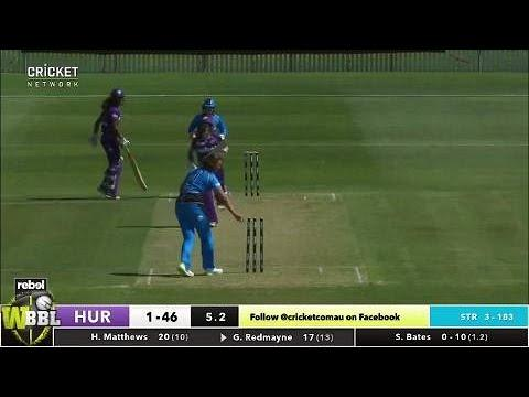Hobart Hurricanes v Adelaide Strikers, WBBL|03